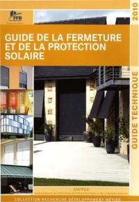 Guide de la fermeture et de la protection solaire : Guide technique