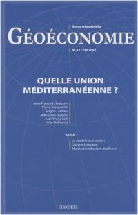 Quelle Union Mediterranéenne ? (N.42 été 2007)