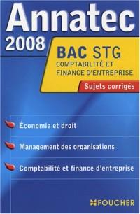 ANNATEC 2008 BAC ECO DROIT MANAG-C.F.E STG (Ancienne édition)