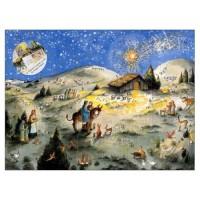 Calendrier de l'Avent : L'Histoire de Noël racontée aux enfants