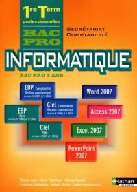 Informatique Bac Pro 1e-Tle Secrétariat-Comtabilité