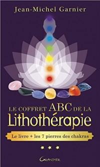 Le coffret ABC de la lithothérapie - Le livre + 7 pierres des chakras