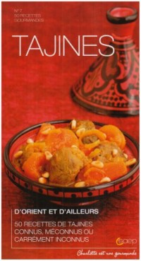 Tajines d'Orient et d'ailleurs : 50 recettes de tajines connus, méconnus ou carrément inconnus