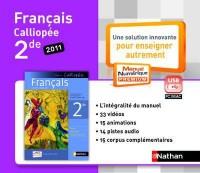 Cle Usb Français 2e Livre Unique Mne Tna