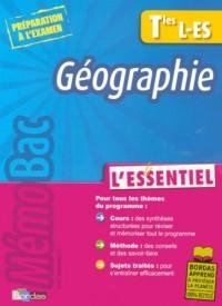 Géographie Tle L-ES