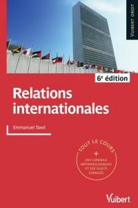 Relations Internationales 6e Edt