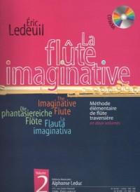 LEDUC LEDEUIL ERIC - FLUTE IMAGINATIVE VOL.2 + CD Méthode et pédagogie Bois Flute