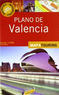 Plano de Valencia / Map of Valencia: Escala: 1:9.000 1cm: 90m