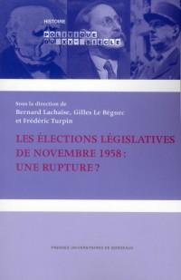Elections Legislatives de Novembre 1958 un Scrutin Fondateur pour la Nouvelle Republique