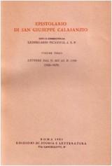Epistolario. Vol. 3: Lettere dal n. 501 al n. 1100 (1626-1629).