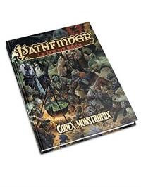 Jeux de Rôles Pathfinder Codex monstrueux