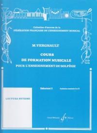 Cours de Formation Musicale pour l'Enseignement du Solfege Deb 2