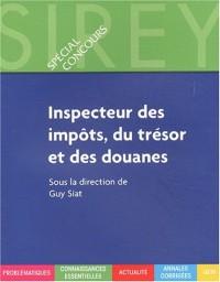 Inspecteur des impôts, du trésor et des douanes