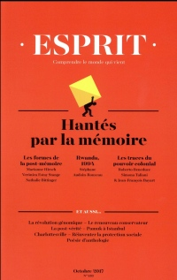 Revue Esprit N 438 le Retour de la Mmoire