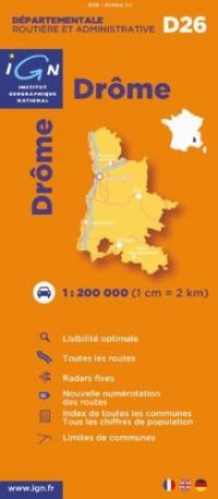 Drôme : 1/200000