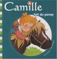 Camille fait du poney
