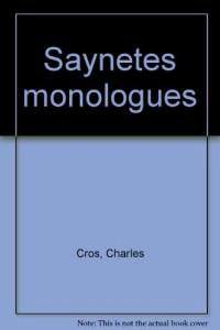 Saynetes monologues