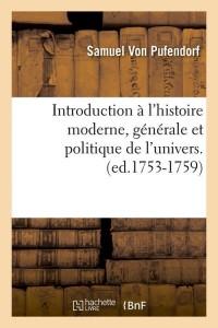 Intro Hist de l Univers  ed 1753 1759