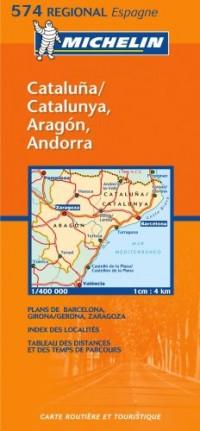 España Cataluña Aragón (mapa 574)