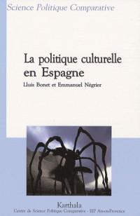 La politique culturelle en Espagne