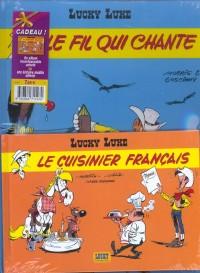 Lucky Luke, 2 BD pour le prix d'une : Le Fil qui chante - Le Cuisinier français (gratuit)