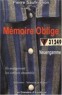 Mémoire oblige. Neuengamme