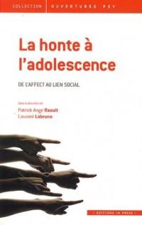 La Honte a l'Adolescence