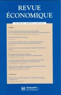 Revue Economique N62 Vol 2