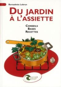 Du Jardin a l'Assiette - Conseil, Bases, Recettes