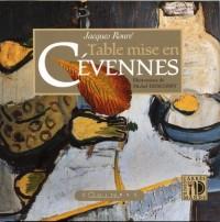 Table Mise en Cévennes