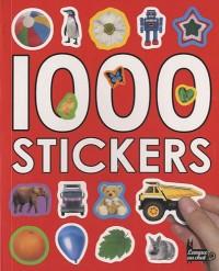 1000 autocollants (stickers)