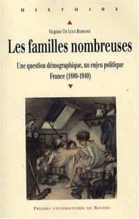 Les familles nombreuses