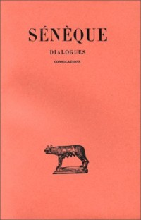 Dialogues, tome 3. Consolations