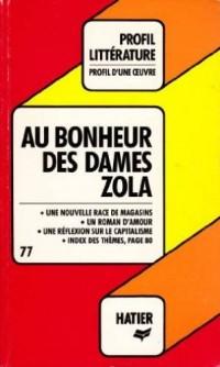Au bonheur des dames, Zola