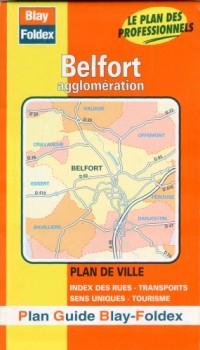 Plan de ville : Belfort (avec un index)