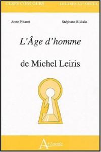 L'Age d'homme de Michel Leiris
