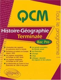 Qcm Histoire Geographie Terminale Bac Pro