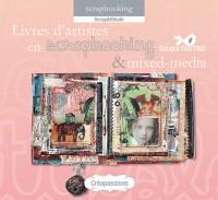 Livres d'artiste en scrapbooking et mixed-media
