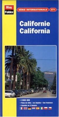 Carte routière et touristique : U.S.A. Californie, N° 371