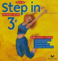 New Step In : Anglais, 3e LV1, pour l'élève (CD audio)
