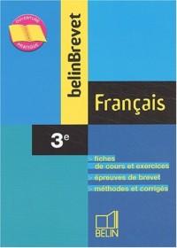 BelinBrevet : Français, 3e