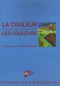 La couleur, les couleurs : Entretiens de la Garenne-Lemot