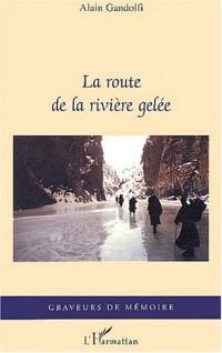 La route de la rivière gelée