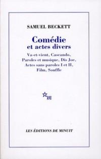 Comédies et actes divers