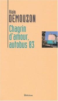 Chagrin d'amour autobus 83
