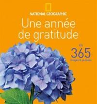 Une année de gratitude : En 365 images et pensées