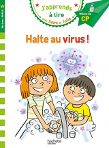 J'apprends à lire avec Sami et Julie : Halte au virus ! : Milieu de CP, niveau 2 [Poche]