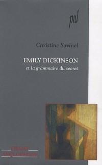 Emily Dickinson et la grammaire du secret