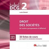 Carrés DCG 2 - Droit des sociétés (et autres groupements d'affaires)