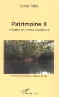 Patrimoine II